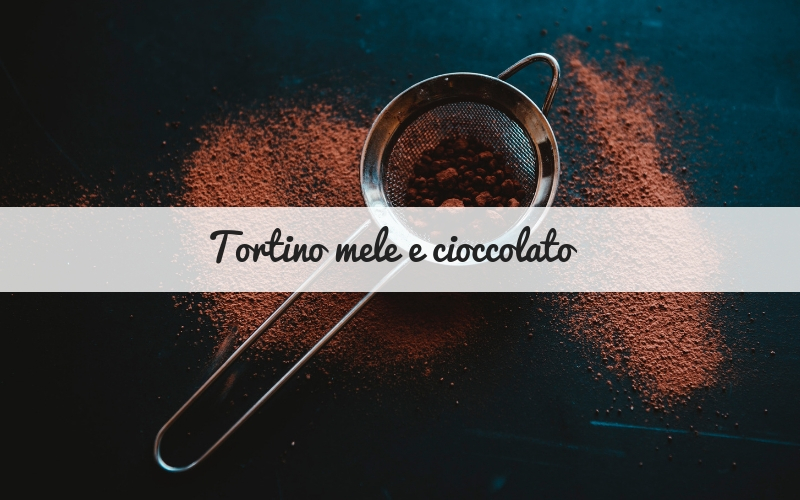 tortino mele e cioccolato_spadelliamo