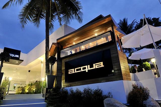 ACQUA restaurant a Phuket, un'esperienza italiana in Thailandia indimenticabile