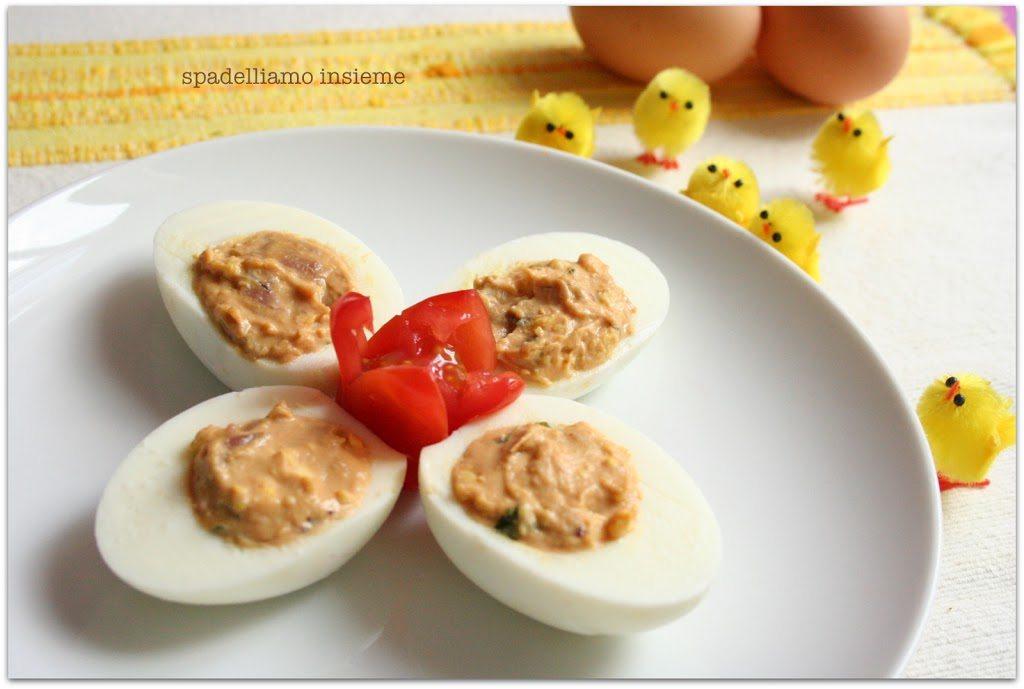 Uova ripiene con tonno e maionese: una ricetta perfetta per la tavola di pasqua