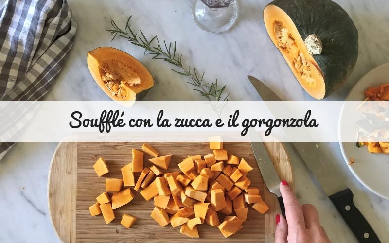 Soufflè alla zucca con gorgonzola
