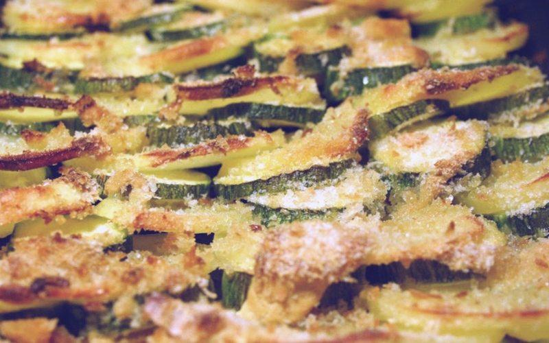 Teglia di zucchine e patate al forno