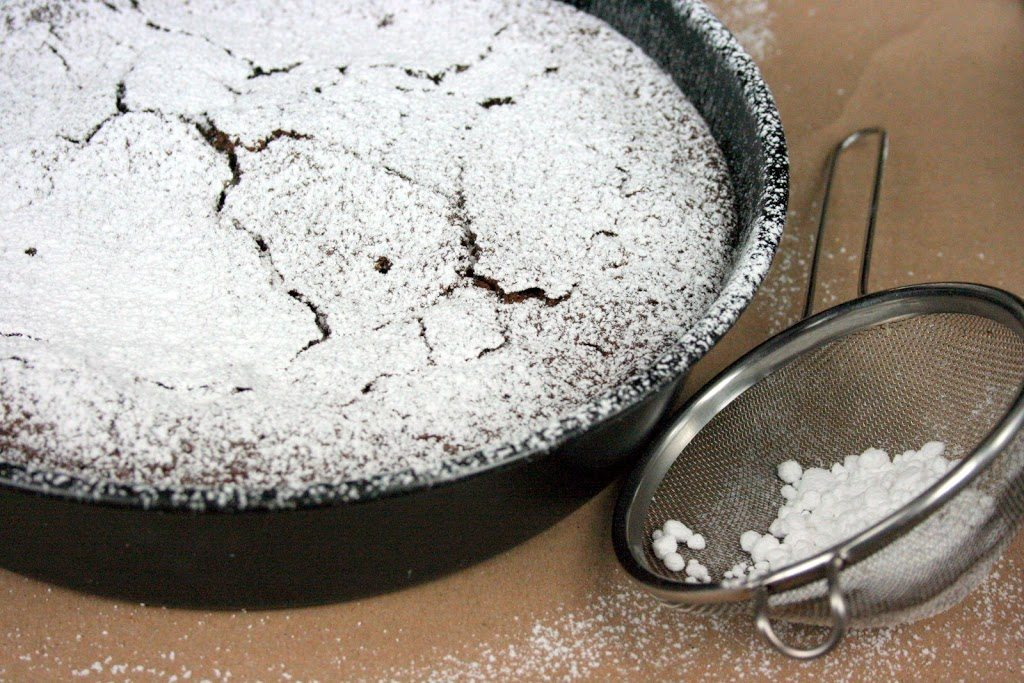 TORTA AL CIOCCOLATO E COCCO SENZA FARINA