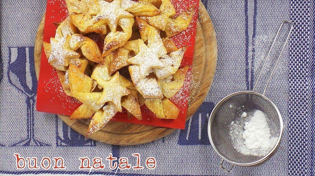 Stelle di Natale con la pasta sfoglia_spadelliamo