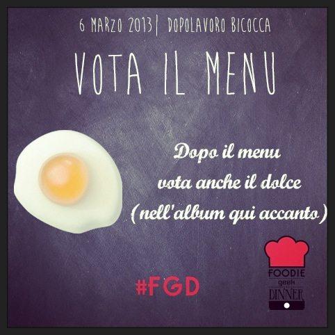 Oggi si chiudono le votazioni per la Foodie Geek Dinner!