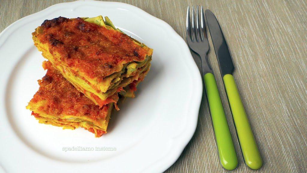 Lasagne verdi al ragù di carne, un classico della mia terra