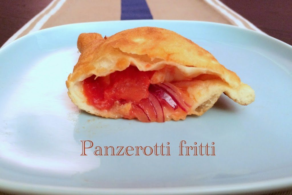 Saturday night: Panzerotti fritti