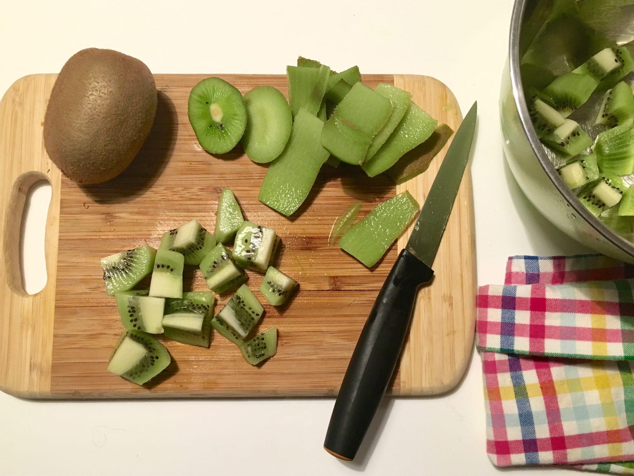 spiedini di frutta fresca di frutta fresca