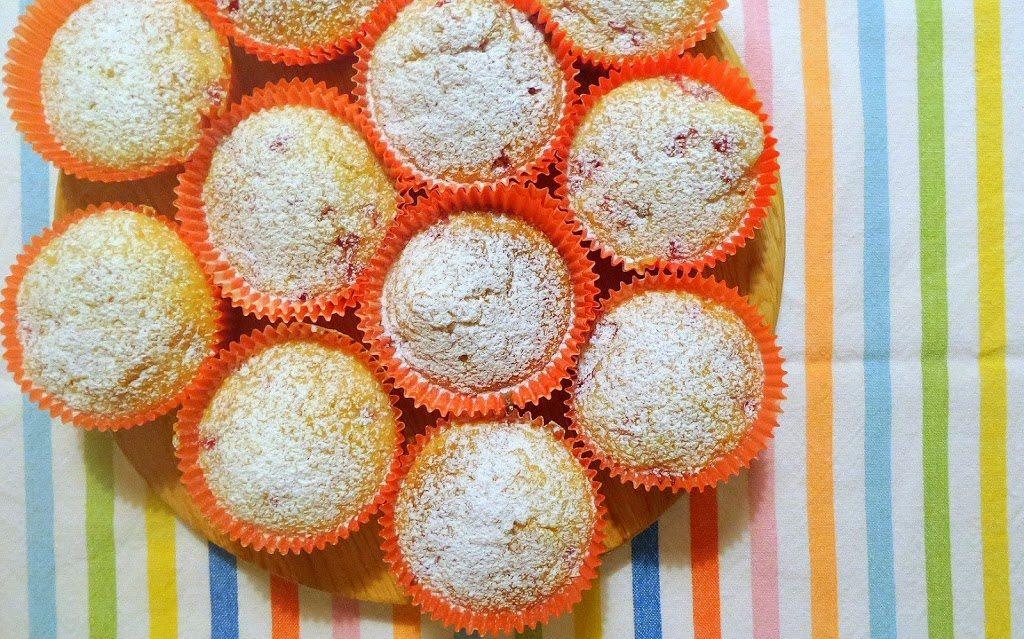 Muffin al ribes e profumo di arancio