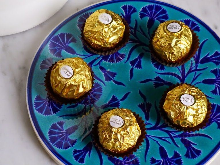 decorazioni ferrero rocher