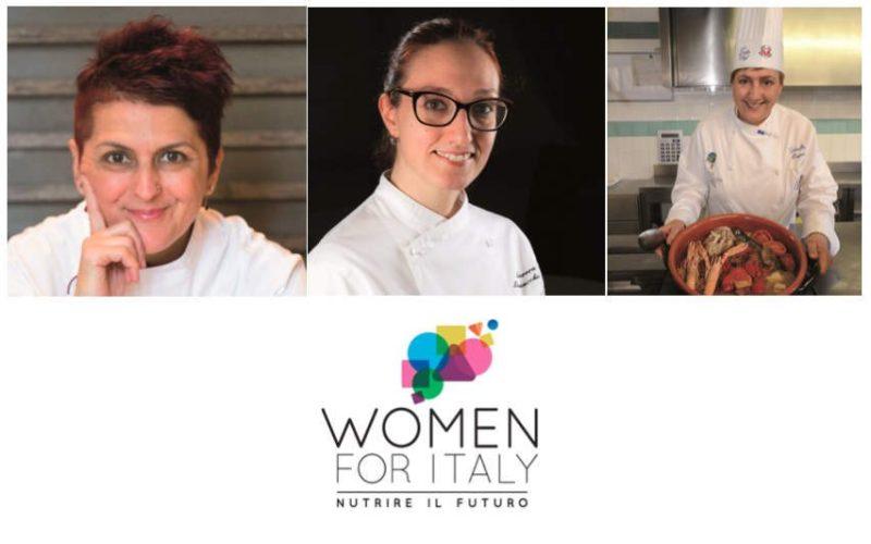 """Women for Italy: parola alle chef del """"Grande pranzo della domenica italiana"""""""