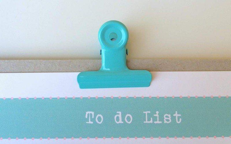 Facciamo un lista delle cose da fare: la mia To do List
