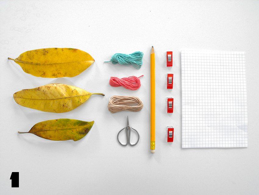 vendetta uncinetta diy foglie autunno