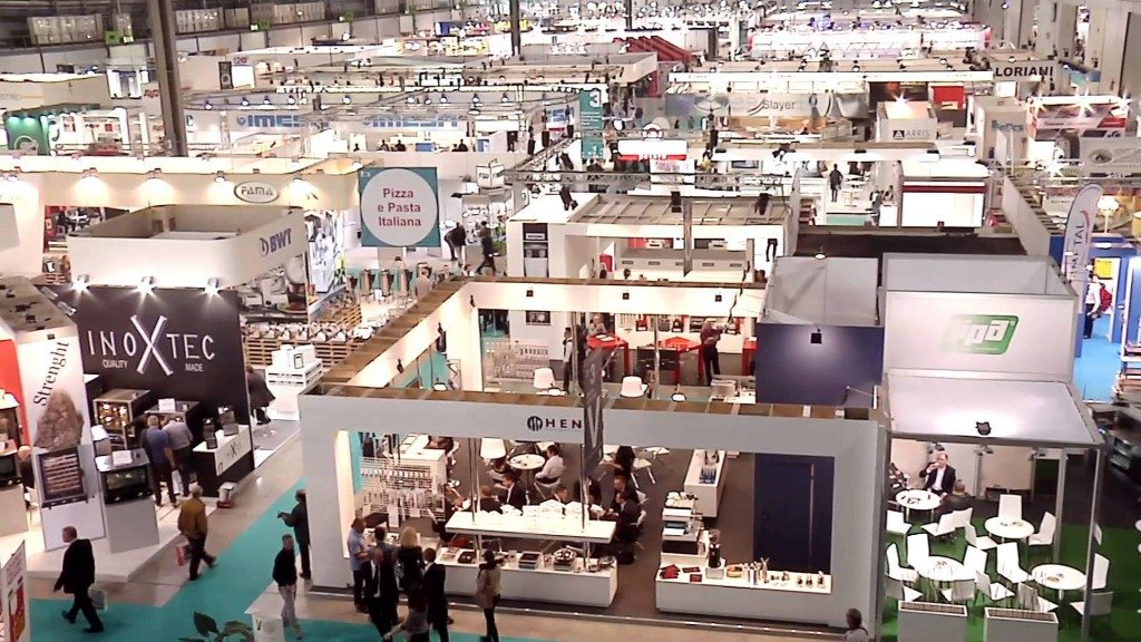 host vista fiera dall'alto