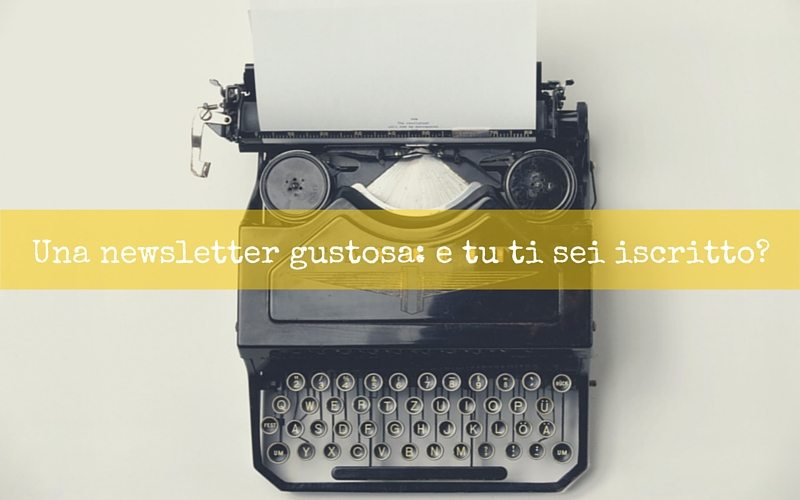 newsletter gustosa spadelliamo