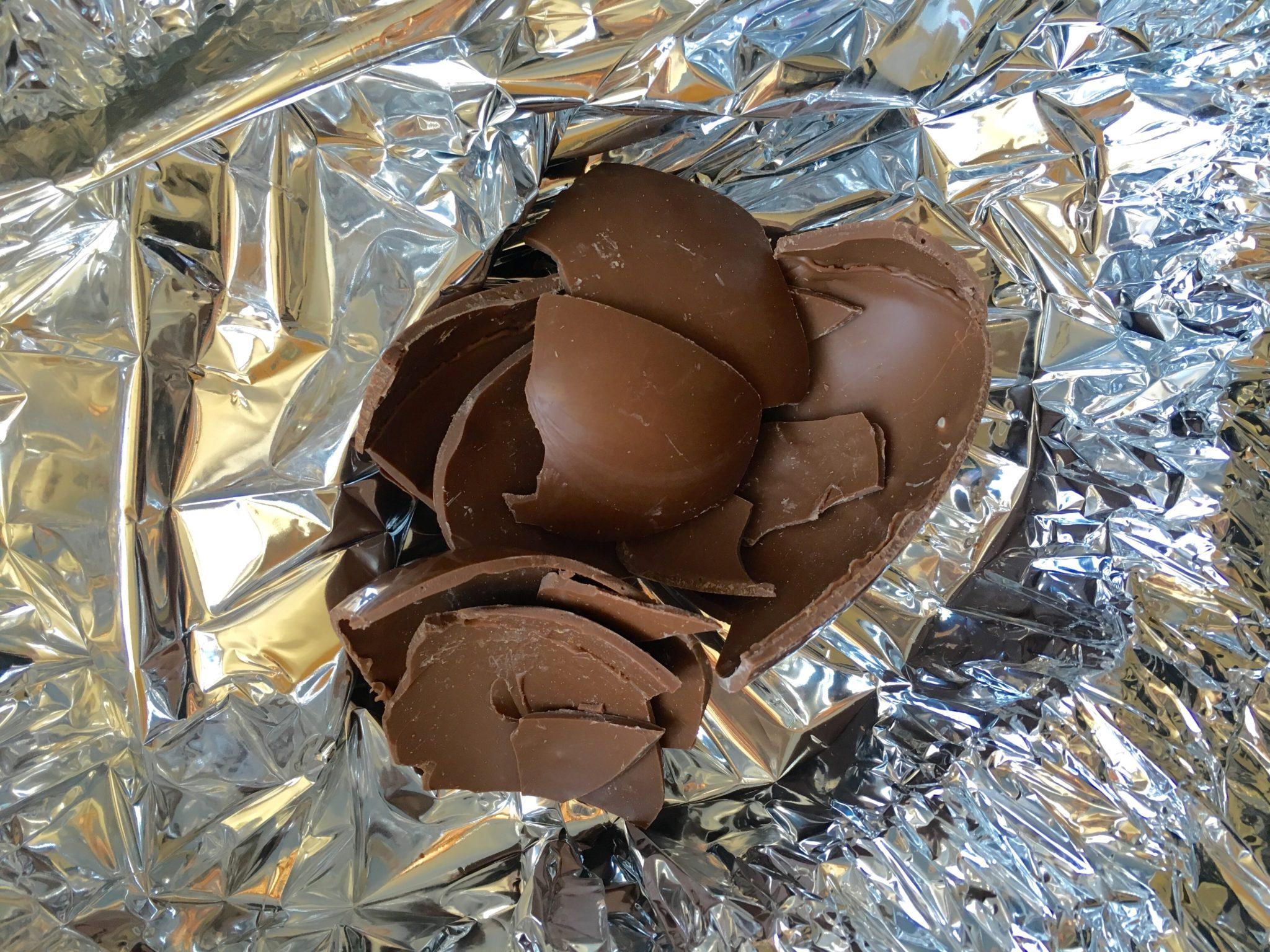 uova cioccolato riciclo