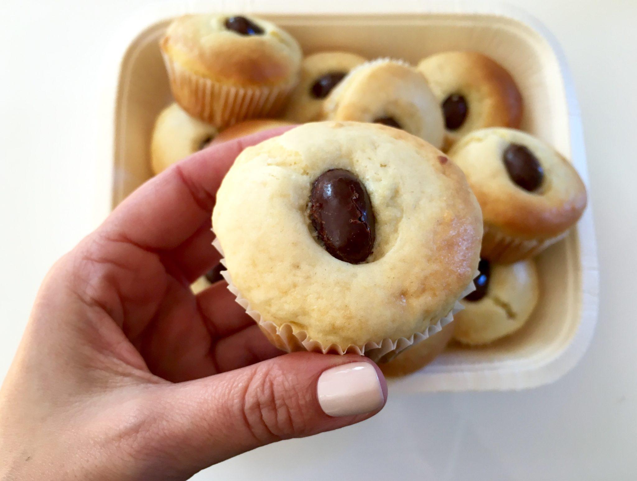 muffin morbidi alla panna