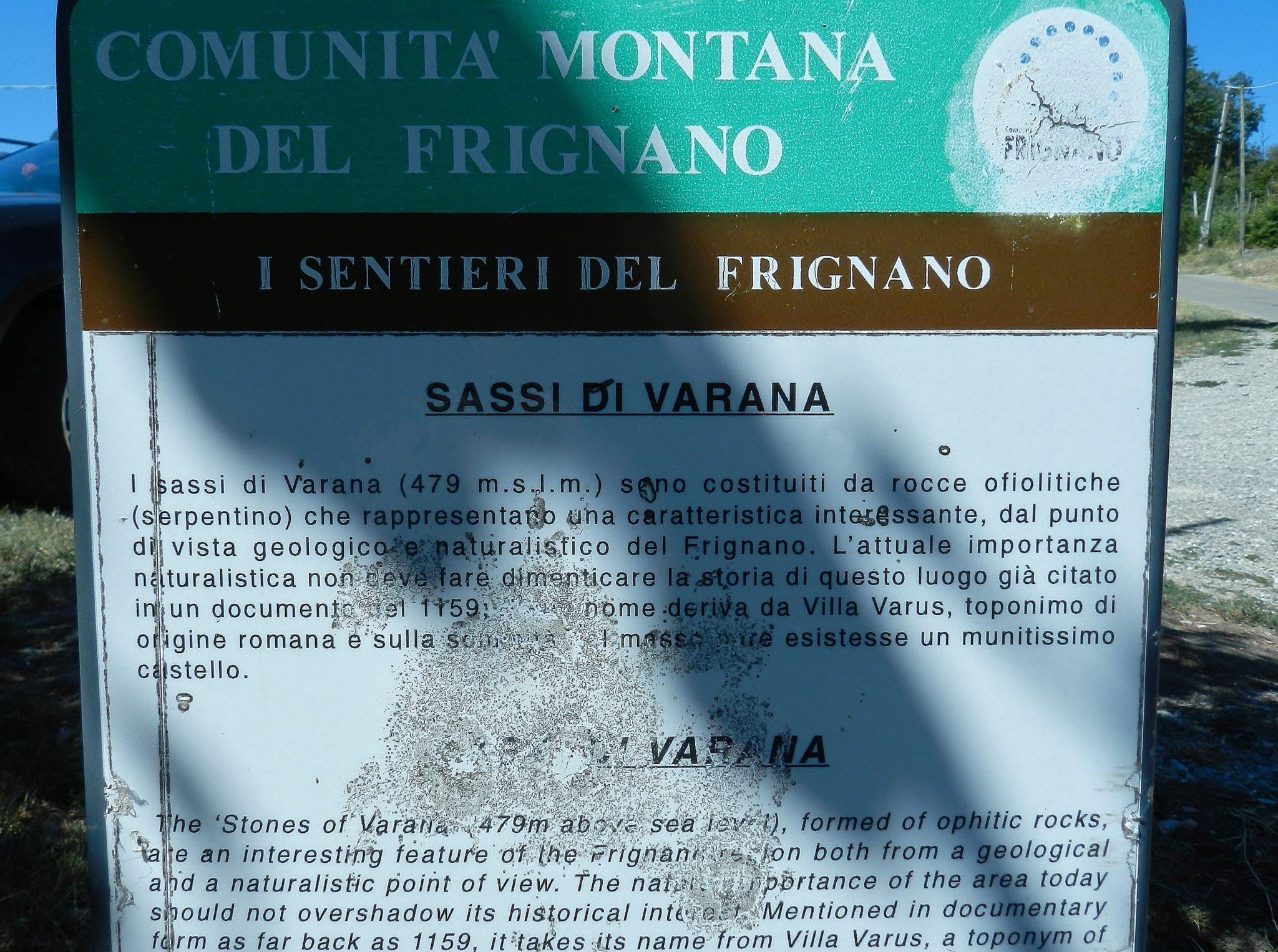 Sassi di Varana - SpadelliamoN5637
