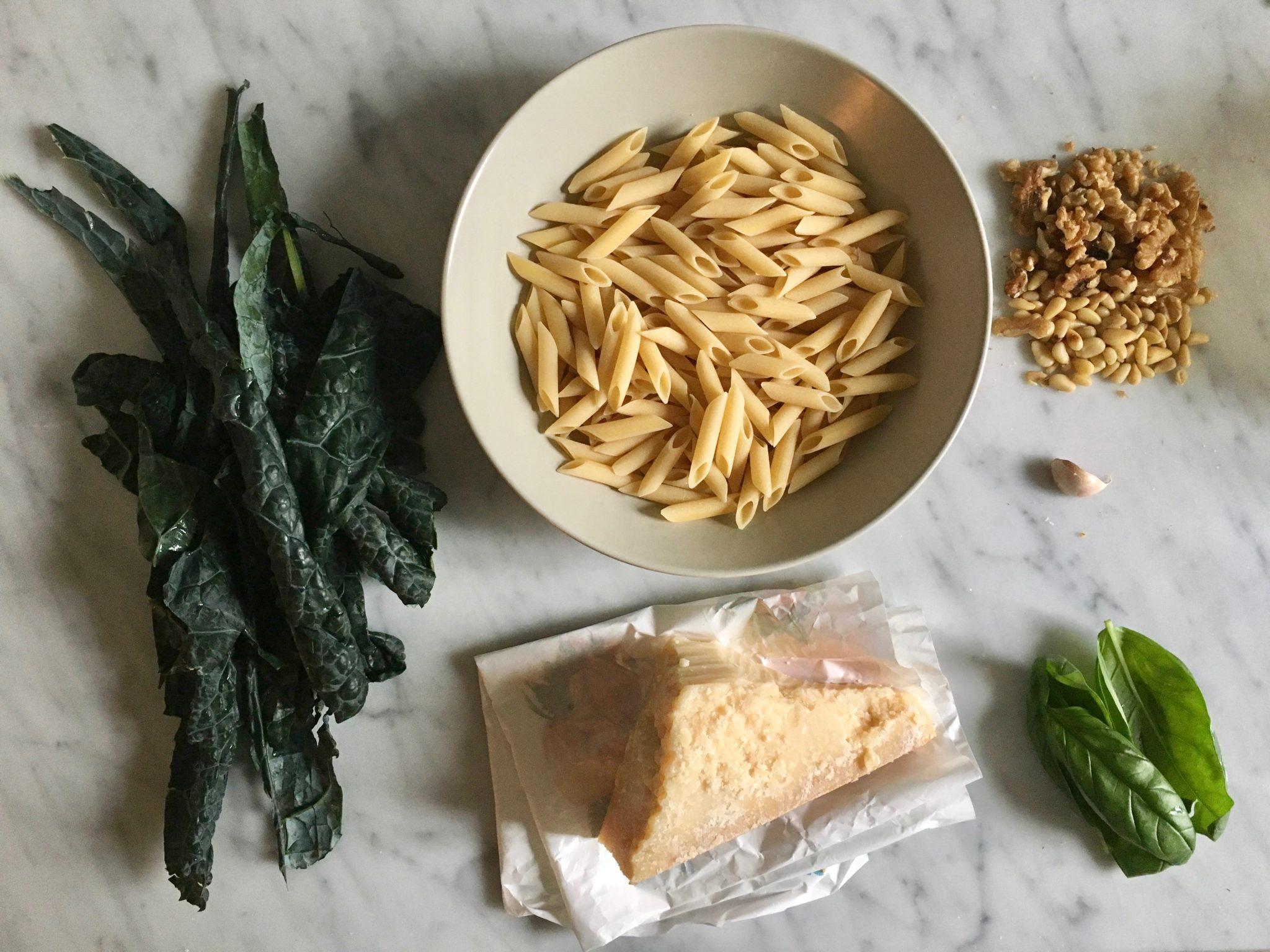 pasta-al-pesto-di-cavolo-nero-gratinata
