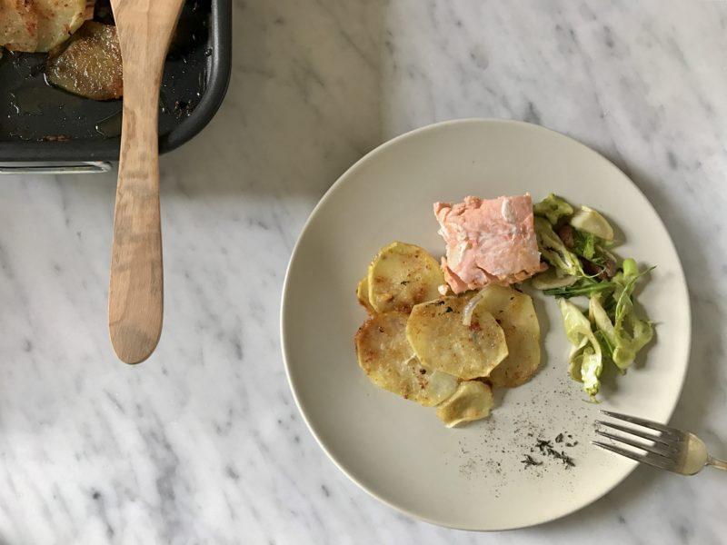 salmone in crosta di patate_spadelliamo
