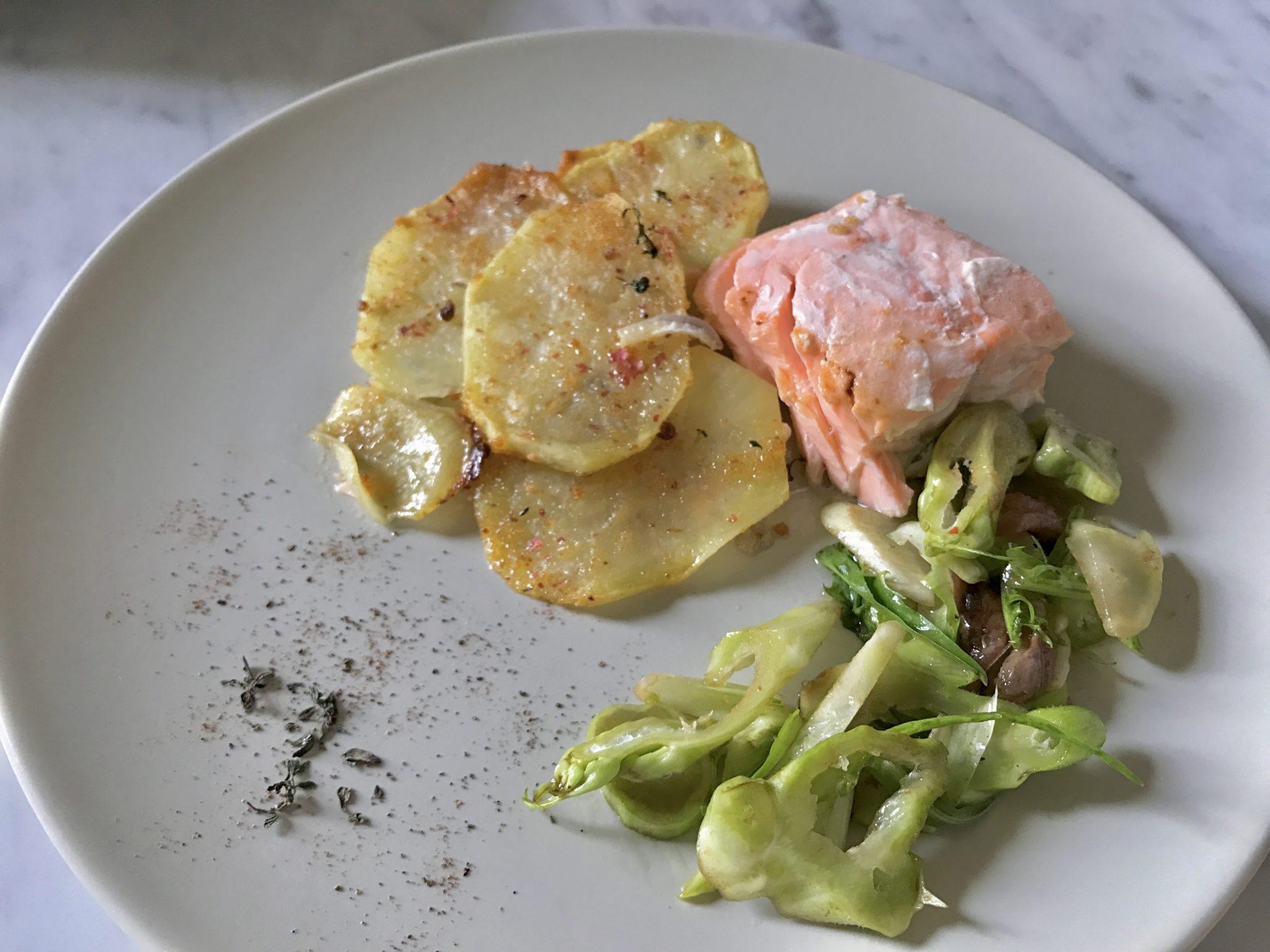 salmone al forno con patate_spadelliamo 3