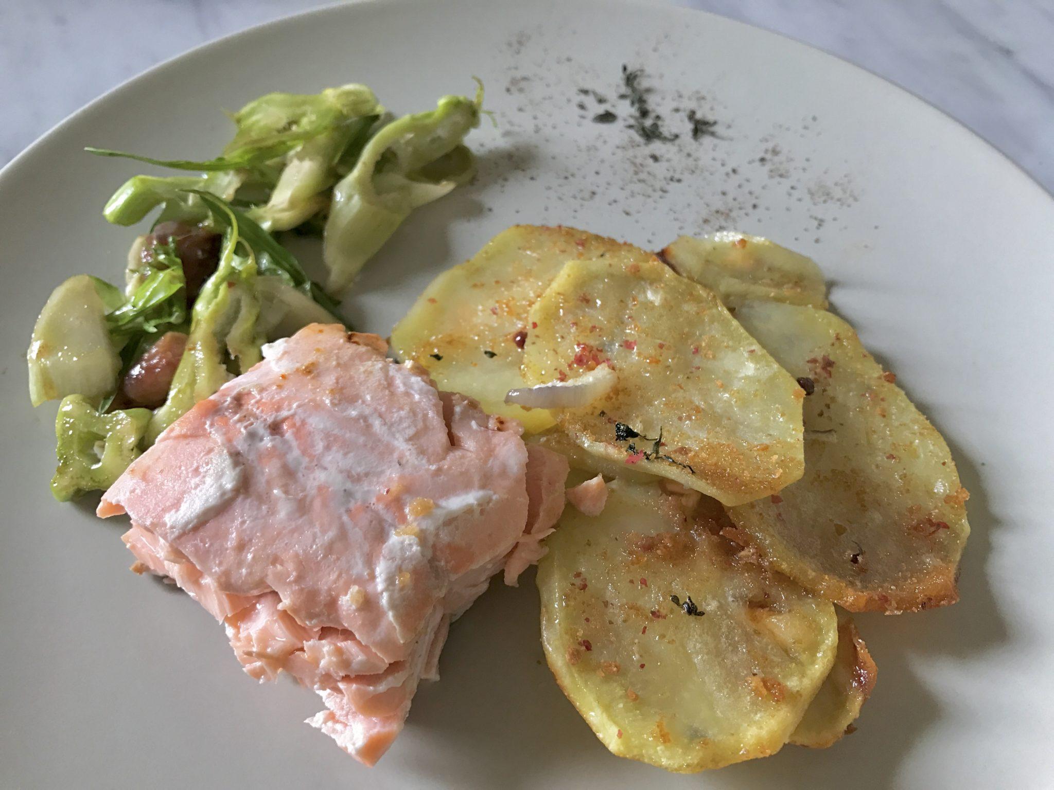 salmone al forno con patate_spadelliamo 4