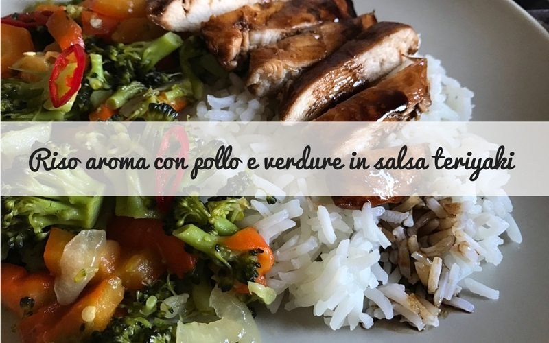 pollo in salsa teriyaki
