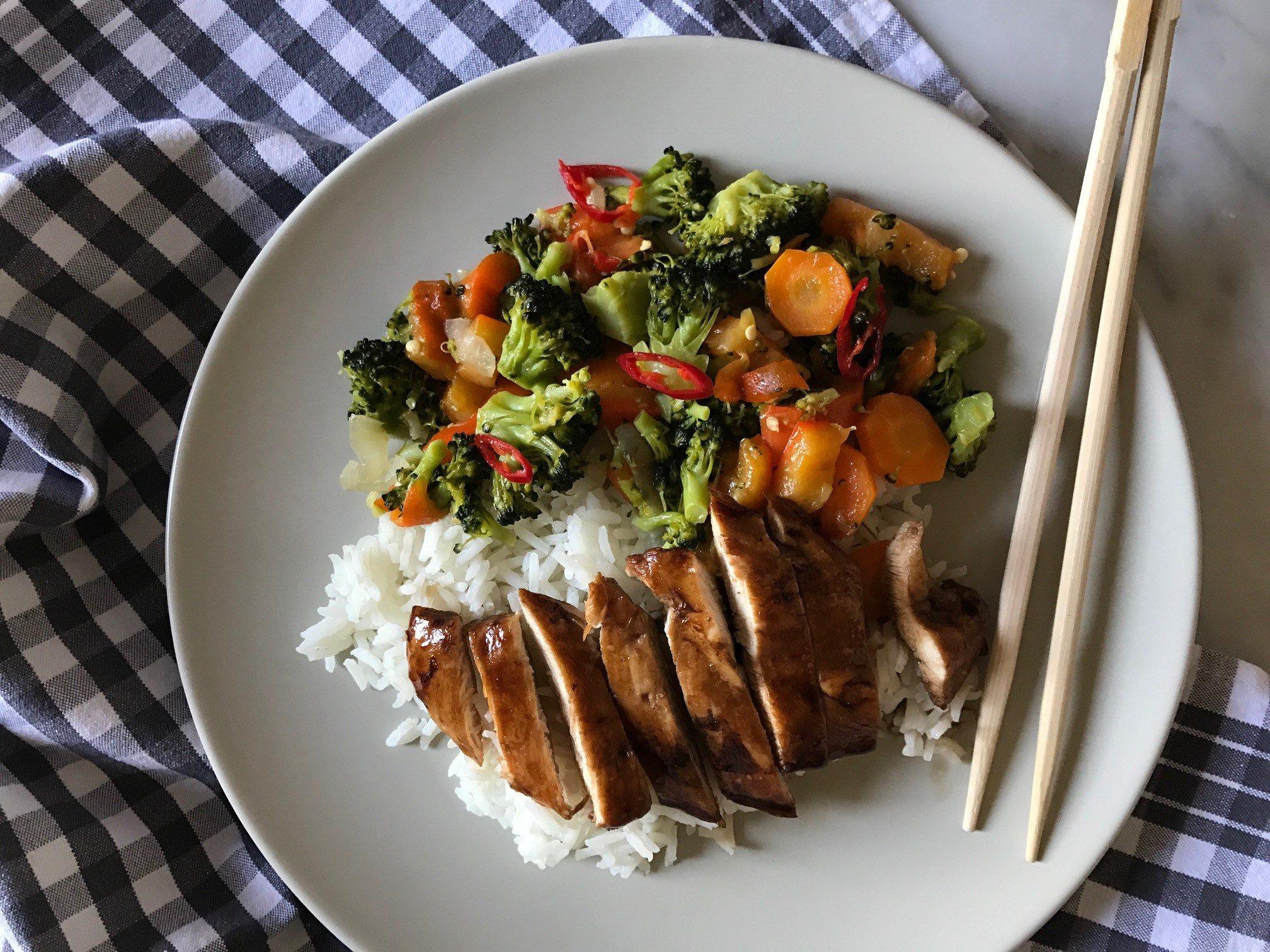 riso aroma pollo teriaki_spadelliamo (8)