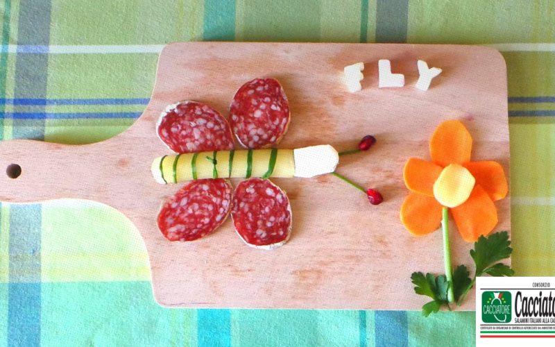 Si può essere creativi con due fette di salame?