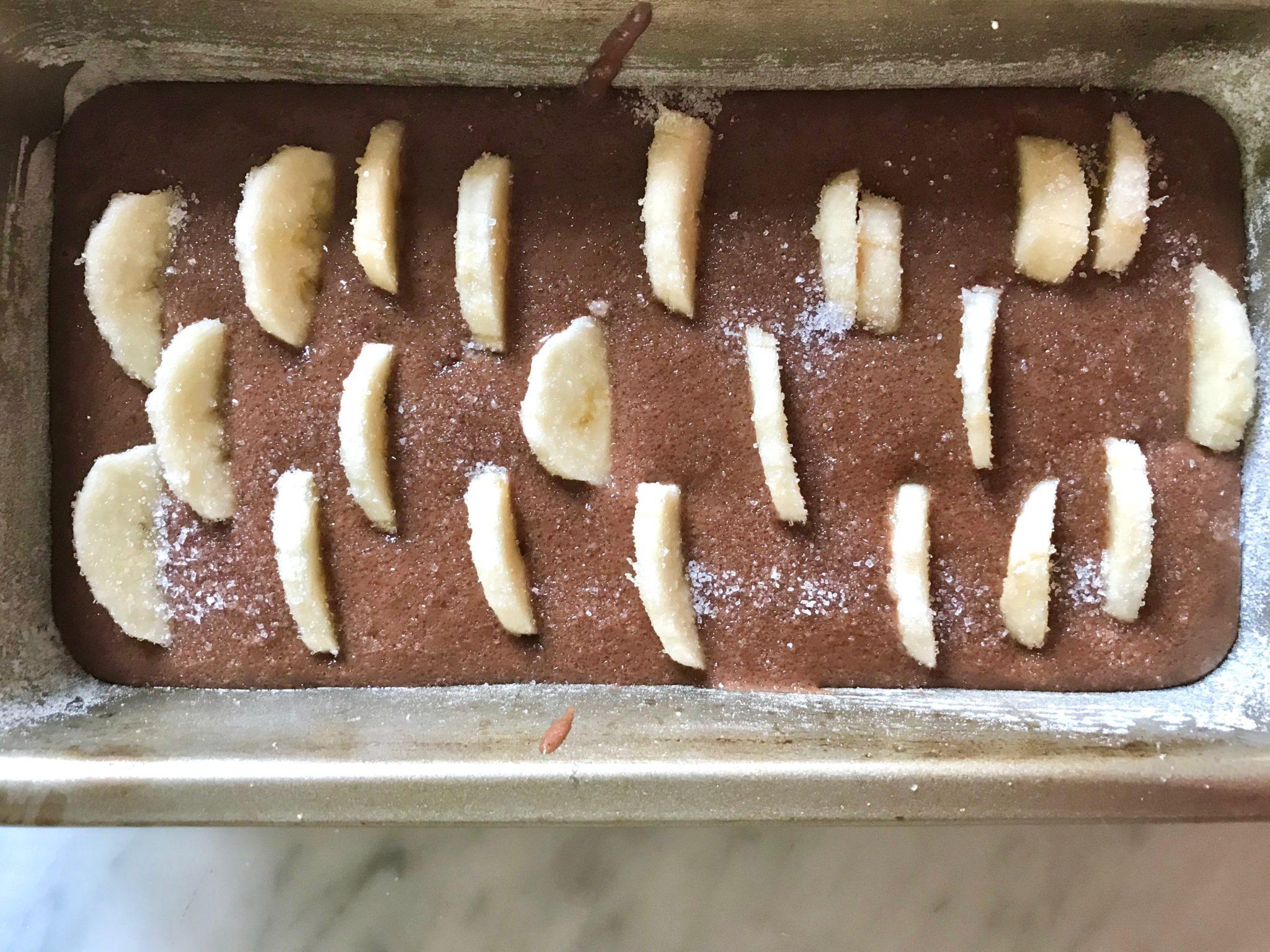 plumcake banana e cioccolato_spadelliamo