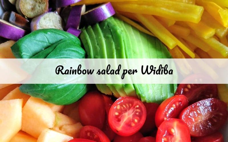 rainbow salad per widiba_spadelliamo