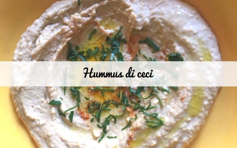Hummus di ceci: ricetta in versione israeliana