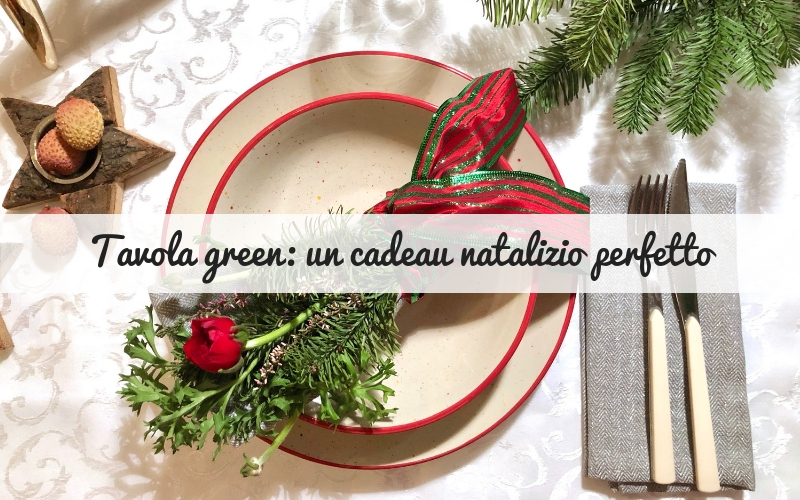Il cadeau natalizio perfetto: un mazzolino al profumo di abete