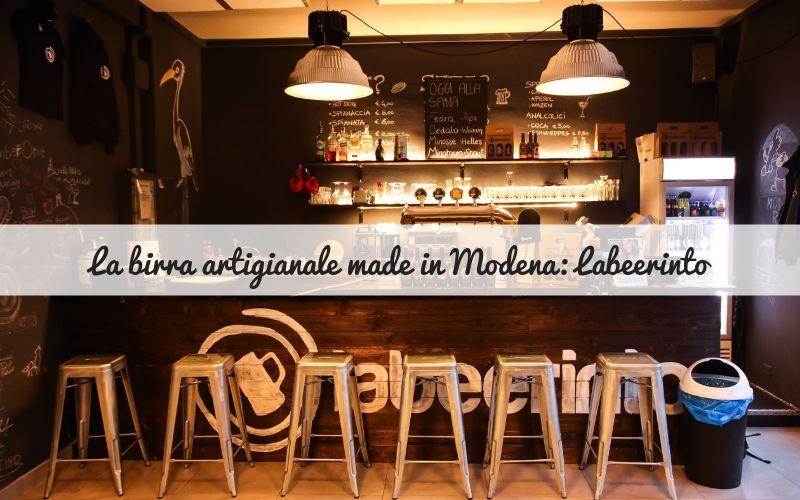 La birra artigianale made in Modena: Labeerinto