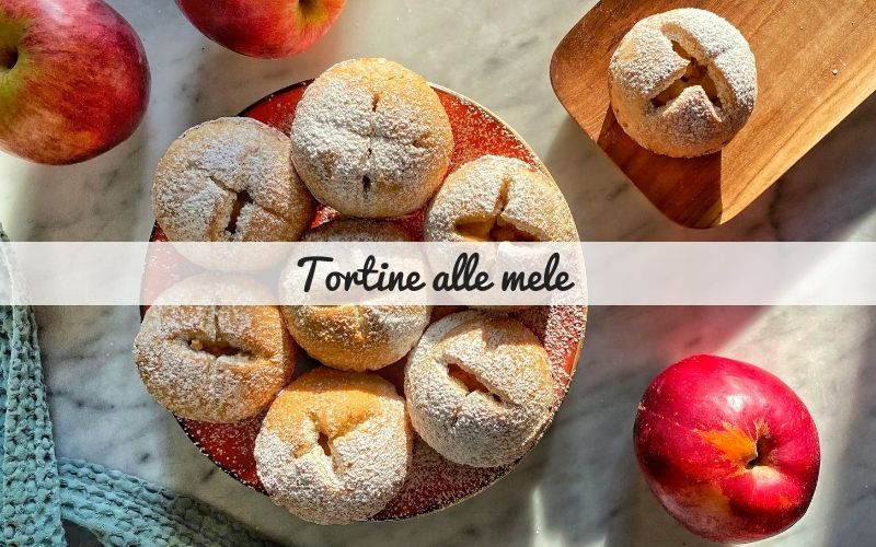 Tortine alle mele – mini apple pie