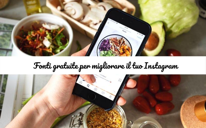Selezione di fonti gratuite per Instagram. Migliorare, crescere e analizzare il tuo account